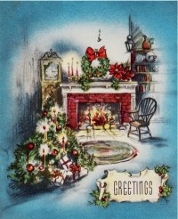 266 best images about vintage christmas cards on Pinterest ...