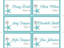 25+ Best Ideas about Place Card Template on Pinterest ...