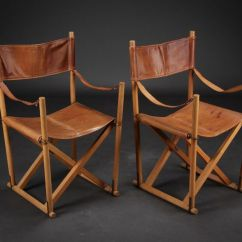 Camp Folding Chairs Chair Covers Material Mogens Koch In Leather | Camping Pinterest Chairs, And
