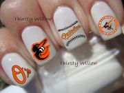baltimore orioles nail decals
