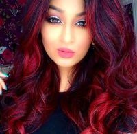 25+ best ideas about Bright Red Highlights on Pinterest