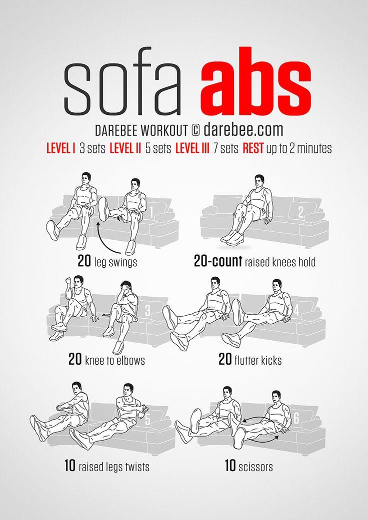 Sofa Abs Workout