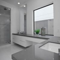 Grey Bathroom | Bathroom Paint Color Schemes with Grey ...