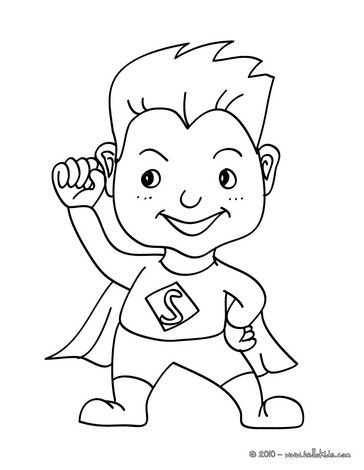 17 Best ideas about Superhero Coloring Pages on Pinterest