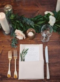 25+ best ideas about Wedding table settings on Pinterest ...