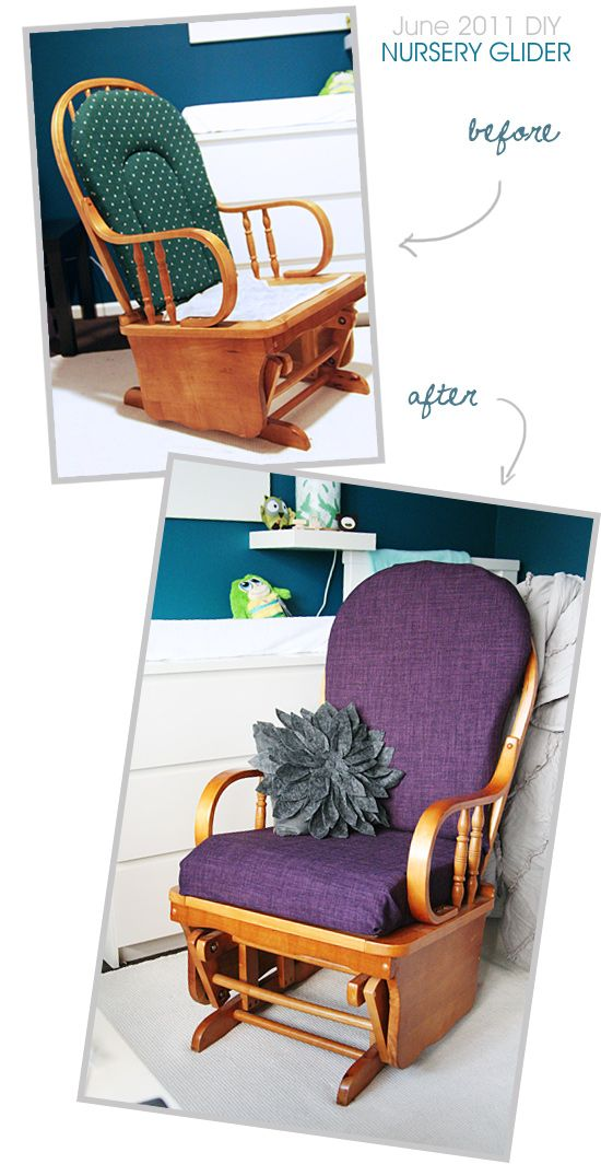 slipcover for rocking chair glider portable lounge cushion best 25+ ideas only on pinterest | recover rockers, redo and ...