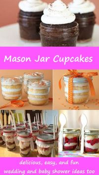 Best 25+ Mason jar cupcakes ideas on Pinterest | Mason jar ...