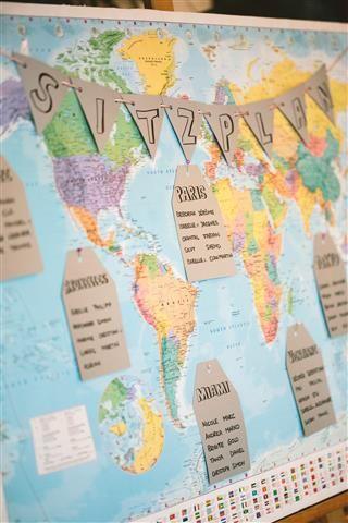 MNM bastelt: Eine Weltkarte als Sitzplan