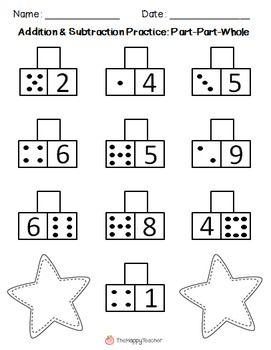Subitizing, Math answers and Fact families on Pinterest