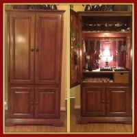 Repurposed TV Armoire turned into Fab Jewelry holder ...