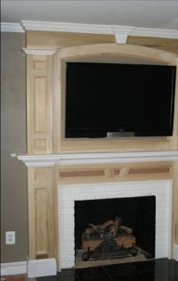 Fireplace Mantel Designs Showing Beautiful Accent ...