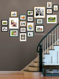 staircase wall decorating ideas | staircase wall ...