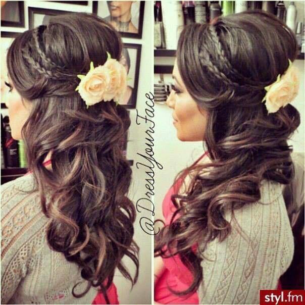 Les 96 Meilleures Images à Propos De Prom Hair Sur Pinterest