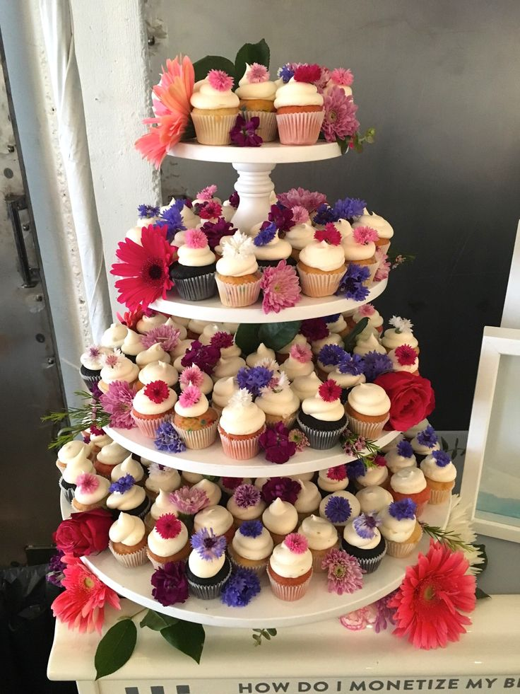 1000 ideas about Cupcake Towers on Pinterest  Cupcake Tower Stand Wedding Cupcakes and