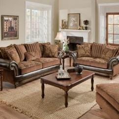 Living Room Loveseats Decor Grey Walls Corinthian 7503 Drama Tobacco   Pinterest ...