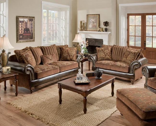 sofas with nailhead trim leather corner ikea uk corinthian 7503 drama tobacco   living room pinterest ...