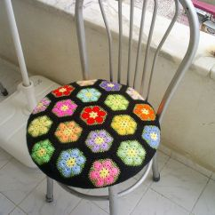 Dining Chair Seat Covers B And M Eames Style 17 Best Images About Crocheted Cover On Pinterest | Yarns, Fiber Art Mismatched ...