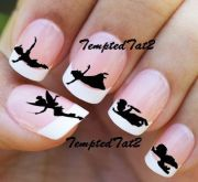 peter pan nail decals temptedtat2