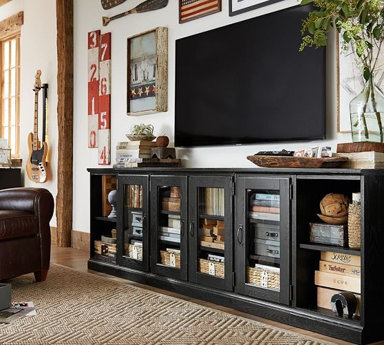 Printers Long Low Media Suite  Pottery Barn Gotta find