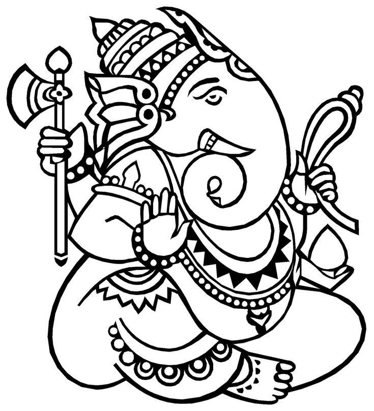 18 Best images about Ganesha-The Elephant God on Pinterest
