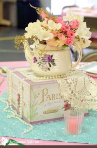 25+ best ideas about Tea party centerpieces on Pinterest ...
