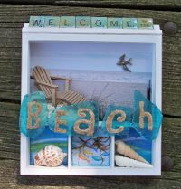 25+ best ideas about Beach shadow boxes on Pinterest ...