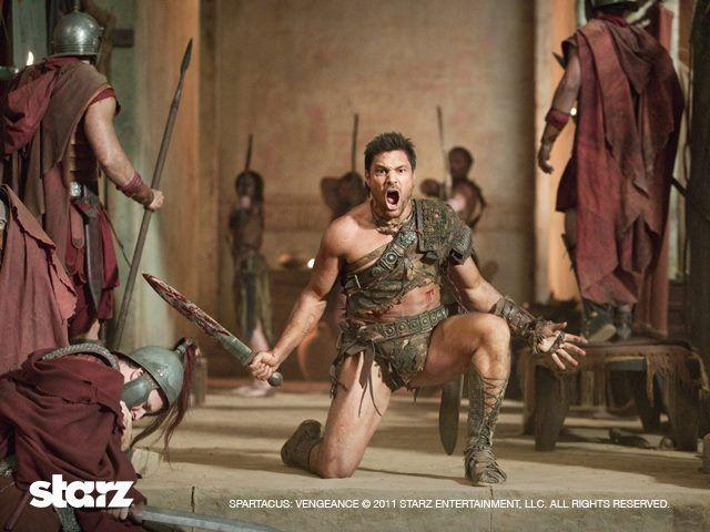 Crixus Manu Bennett  A fearless and tested warrior