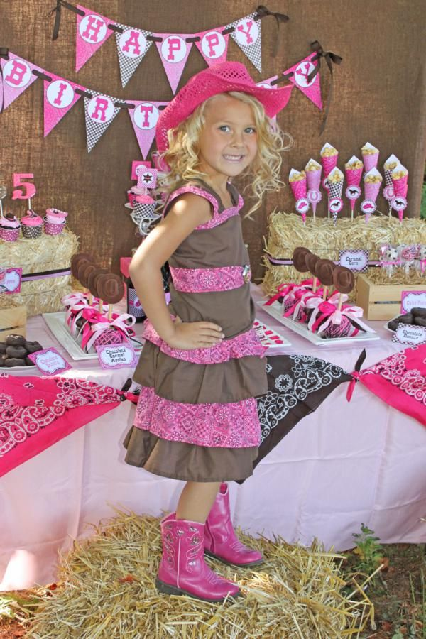 little girl party ideas  items used in this party