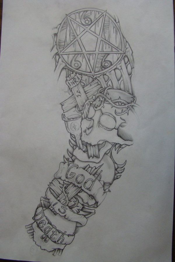 tattoo ideas drawings sleeve