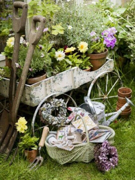 472 Best Images About Vintage Gardening On Pinterest Old Wagons