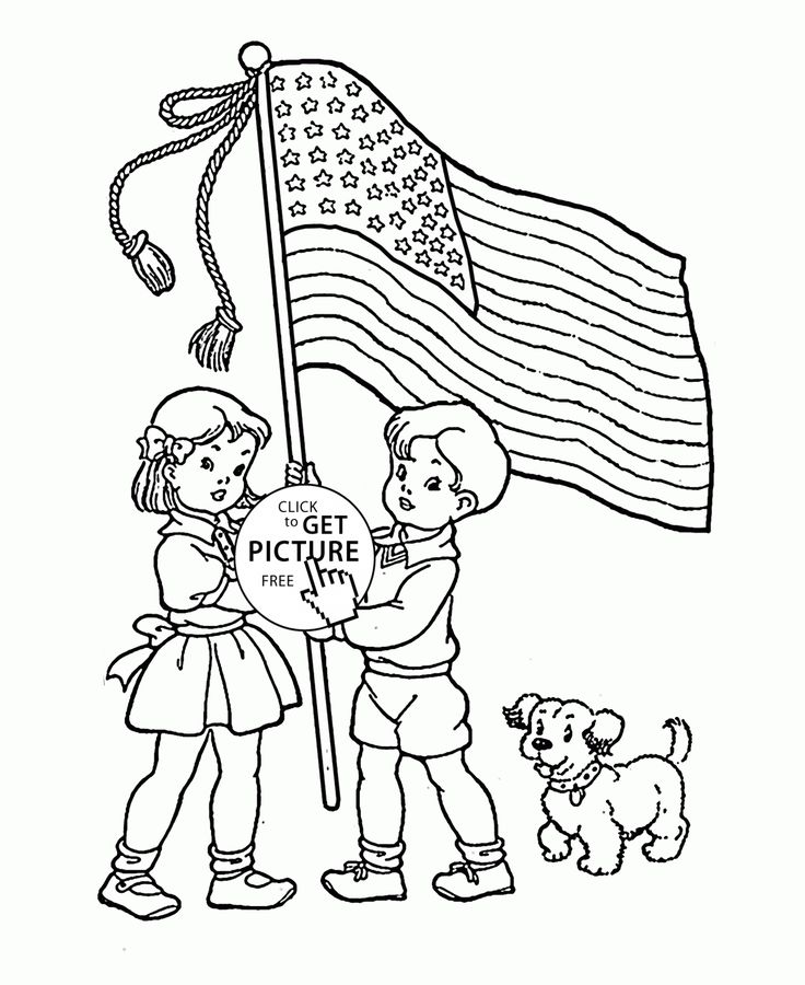 1000+ ideas about American Flag Coloring Page on Pinterest