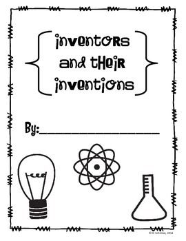 INVENTORS AND INVENTIONS UNIT: STUDENT RESEARCH BOOK AND