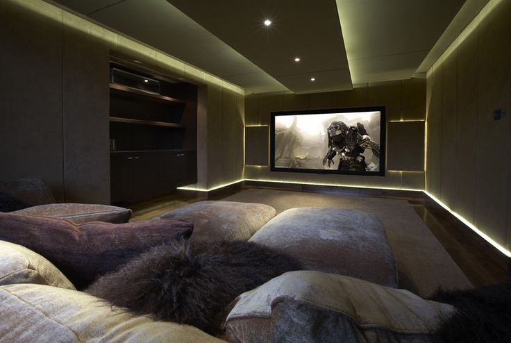 Would definitely have this as a home theatre room Alongside a bunch of comfy pillows on the