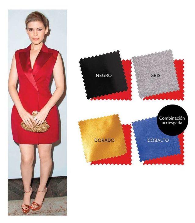 Image result for combinaciones fashion con rojo instyle