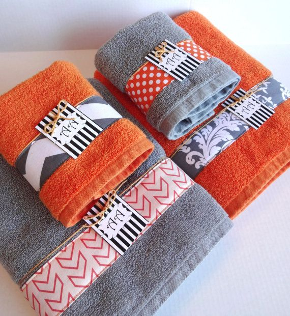 yellow kitchen towels catskill craftsmen island bath towels, orange grey and on pinterest