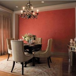Chelsea Square Sofa Feet Glides Accent Wall With A Tone-on-tone Stenciled Wallpaper Effect ...