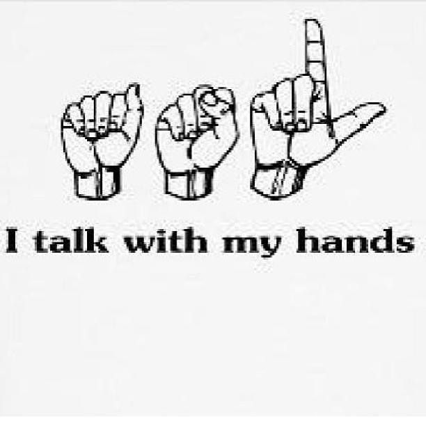 American Sign Language ♥ I'm learning to and discovering a