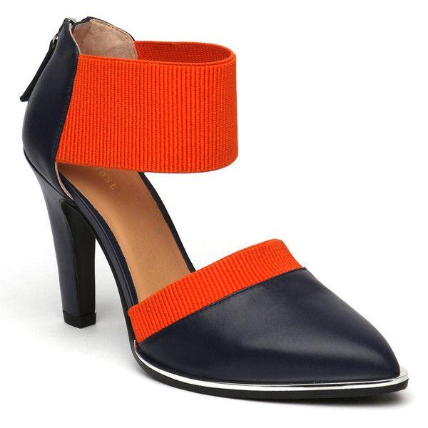 25 Best Ideas About Orange High Heels On Pinterest