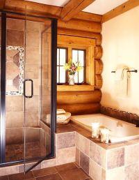 Best 25+ Log home bathrooms ideas on Pinterest