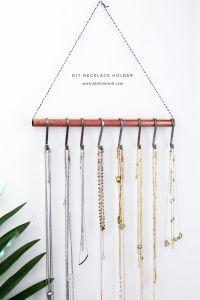 25+ best ideas about Necklace holder on Pinterest | Diy ...