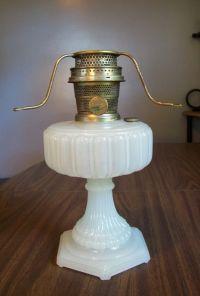 Aladdin Cathedral White Moonstone Kerosene Mantle Lamp Nu ...