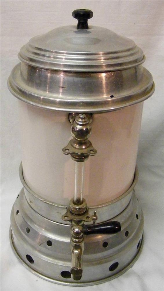electric grinder kitchen stainless steel backsplash vintage retro commercial coffee maker percolator ...