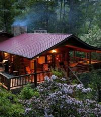 Cabin with outdoor space. | log homes | Pinterest | Wrap ...