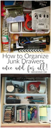 25+ best ideas about Junk drawer organizing on Pinterest ...