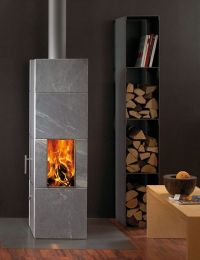 Attika Soapstone Stove | Wood Burning Stoves | Pinterest ...