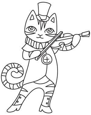 270 best Riscos gatos images on Pinterest