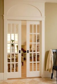 Pocket doors, Master bedrooms and Doors on Pinterest
