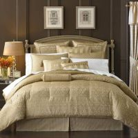 Gold Queen Comforter Sets | ... > Waterford Bedding ...
