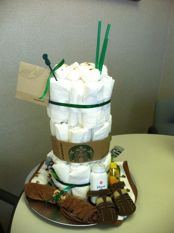 Starbucks Cake For Baby Boy Samon My Cake Is On