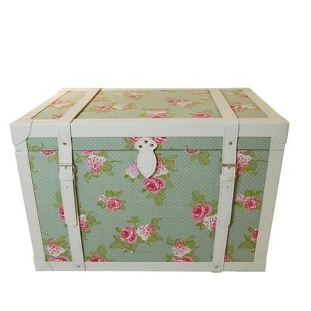 Annabelle Collection Storage Trunk  Dunelm  Home  Decor